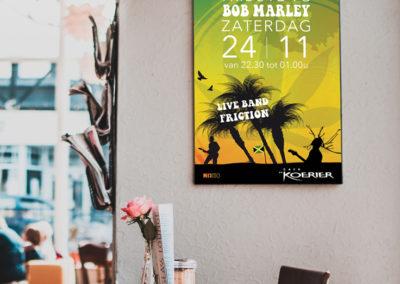 Poster Café de Koerier