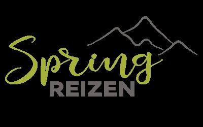 Ontwerp logo Spring Reizen